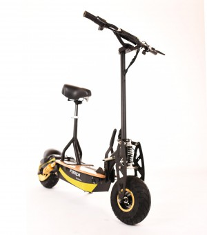 FORCA Raceking II 35 km/h Scooter Black-Gold Edition