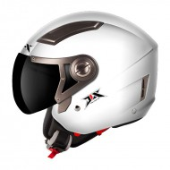 Helm Jethelm Weiss DUAL VISIER M